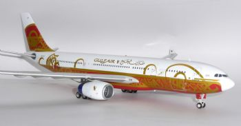 Airbus A330-200 Gulf Air 50 Anniversary Inflight 200 Diecast Metal Model Scale 1:200 IF3321016 E